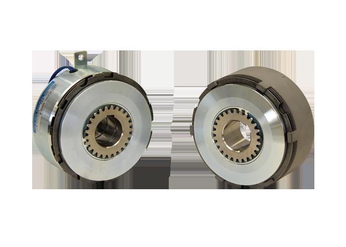 齿型、多板、固定位置啮合电磁离合器
